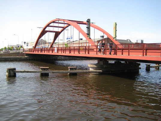 Järnvägsbro, Lidköping